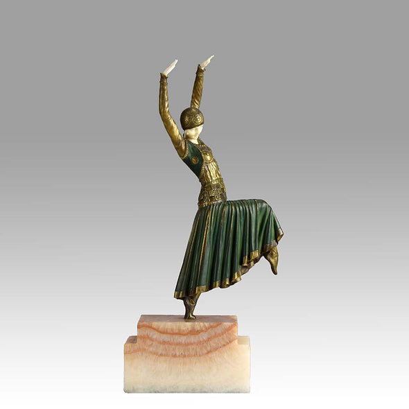 Chiparus Vested Dancer Art Deco Figure