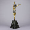 Demetre Chiparus Egyptian Dancer - Art Deco Bronze Sculpture -Hickmet Fine Arts