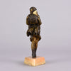 Chiparus Squall - Art Deco Figure The Squall - Hickmet Fine Arts