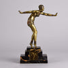 Chiparus Dancer Art Deco Bronze