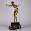 Demetre Chiparus Art Deco Bronze figure