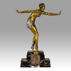 """Phoenician Dancer"" By D H Chiparus"