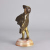Chiparus Windy Day Art Deco Bronze