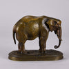 French Bronze Elephant