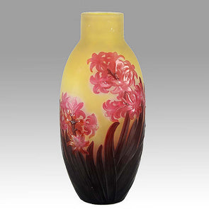 Chrysanthemum Vase by Gallé