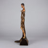 Erte Sculpture Julietta - Art Deco Bronze Sculpture -  Romain de Tirtoff Bronze Figure - Hickmet Fine Arts