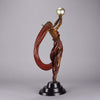 Erte bronze the Globe