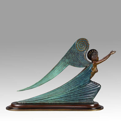 "Erté ""Angel"" Limited Edition Art Deco Bronze"