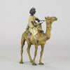 Bergman Arab on Camel Austrian Bronze