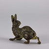 Bronze rabbit by Bergman