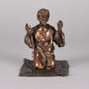 Franz Bergman Praying Arab - Austrian Bronze - Hickmet Fine Arts
