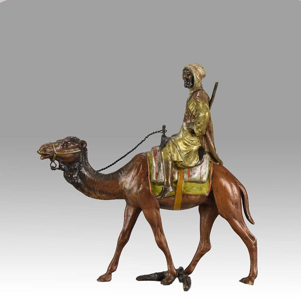 """Camel with Arab Warrior"" by Bergman"