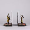 """Dancing Arab Bookends"" by Franz Bergman"