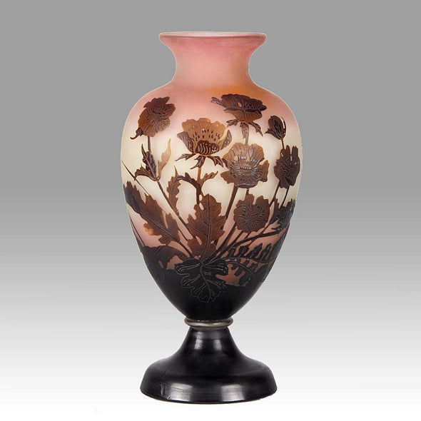 Gallé Flower Vase