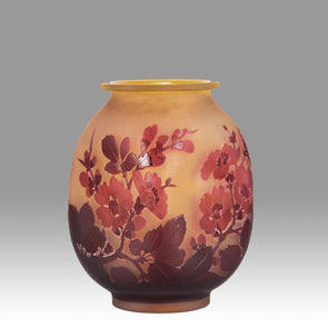 """Flower Vase"" by Emile Galle"