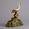 Omerth Bronze - Art Deco Bronze & Ivory Figure - Hickmet Fine Arts