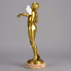 Art Deco Keck Bronze
