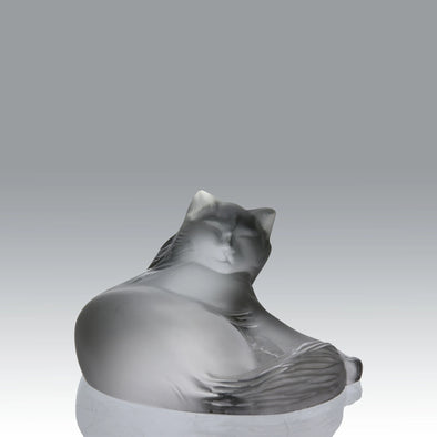 """Heggie Cat"" by Lalique"