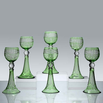 """Hock Glasses"" by Webb and Co"