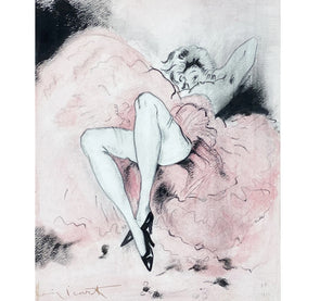 """Danseuse au Repos"" by Louis Icart"