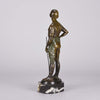 Franz Iffland - Art Deco Bronze Polo Player - Hickmet Fine Arts