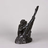 Rochard Bronze 'Deux Singes' Animalier Bronze