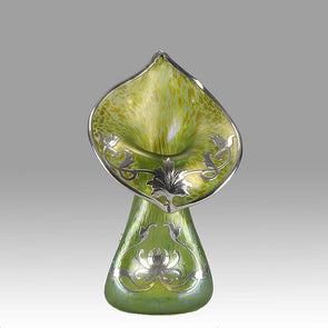 Jack in the Pulpit vase by Johann Loetz
