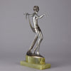 Lorenzl Dancer with Scarf - Josef Lorenzl Bronze - Hickmet Fine Arts