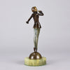 Josef Lorenzl Bronze - Tiptoes - Art Deco Sculpture - Hickmet Fine Arts