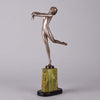 Josef Lorenzl Arms Out -  Art Deco Sculpture - Hickmet Fine Arts