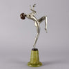 Lorenzl Leant Back Art Deco Bronze
