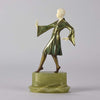 Art Deco Josef Lornezl Dancer Figure