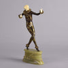 Lorenzl Dancer - Josef Lorenzl Art Deco Bronze - Hickmet Fine Arts