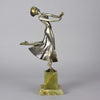 Lorenzl Joy Art Deco Bronze