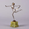 Josef Lorenzl Scarf Dancer -  Art Deco Sculpture - Hickmet Fine Arts