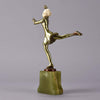"Art Deco Figure ""Skater"" by Josef Lorenzl"