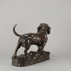 Bronze Basset by Moigniez