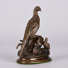Moigniez Game Bird Animalier Bronze