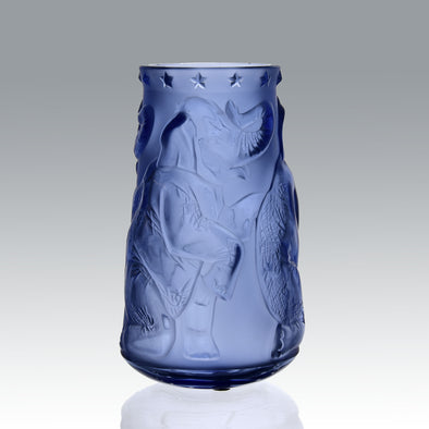 Lalique Elephant Vase - Lalique Glass - Hickmet Fine Arts