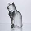 Lalique Seated Cat - Chat Assis - Hickmet Fine Arts