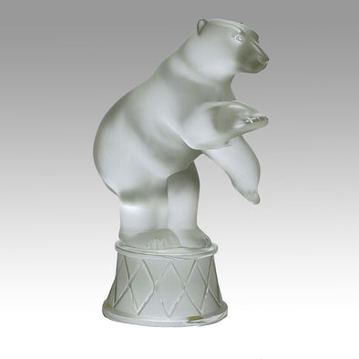 Marc Lalique Bear - Lalique Circus Bear - Hickmet Fine Arts