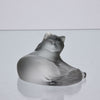 Lalique Glass Cat - Lalique Glass - Hickmet Fine Arts