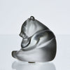 Lalique Glass Panda - Lalique Panda - Hickmet Fine Arts