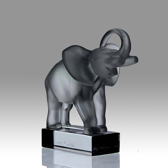 """Standing Elephant"" by Marc Lalique"