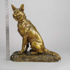 Louis Riche Bronze Seated Alsatian