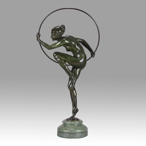 Lucien Alliot Bronze - Hoop Dancer - Hickmet Fine Arts