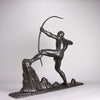 Lucien Gibert Bronze - The Archer - Hickmet Fine Arts