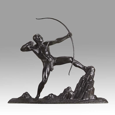 """The Archer"" by Lucien Gibert"