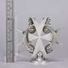 Maltese Cross Car Mascot -Silver Plated Car Mascot - Hickmet Fine Arts