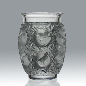 Lalique Bagatelle Vase -  Marc Lalique Glass Vase - Hickmet Fine Arts